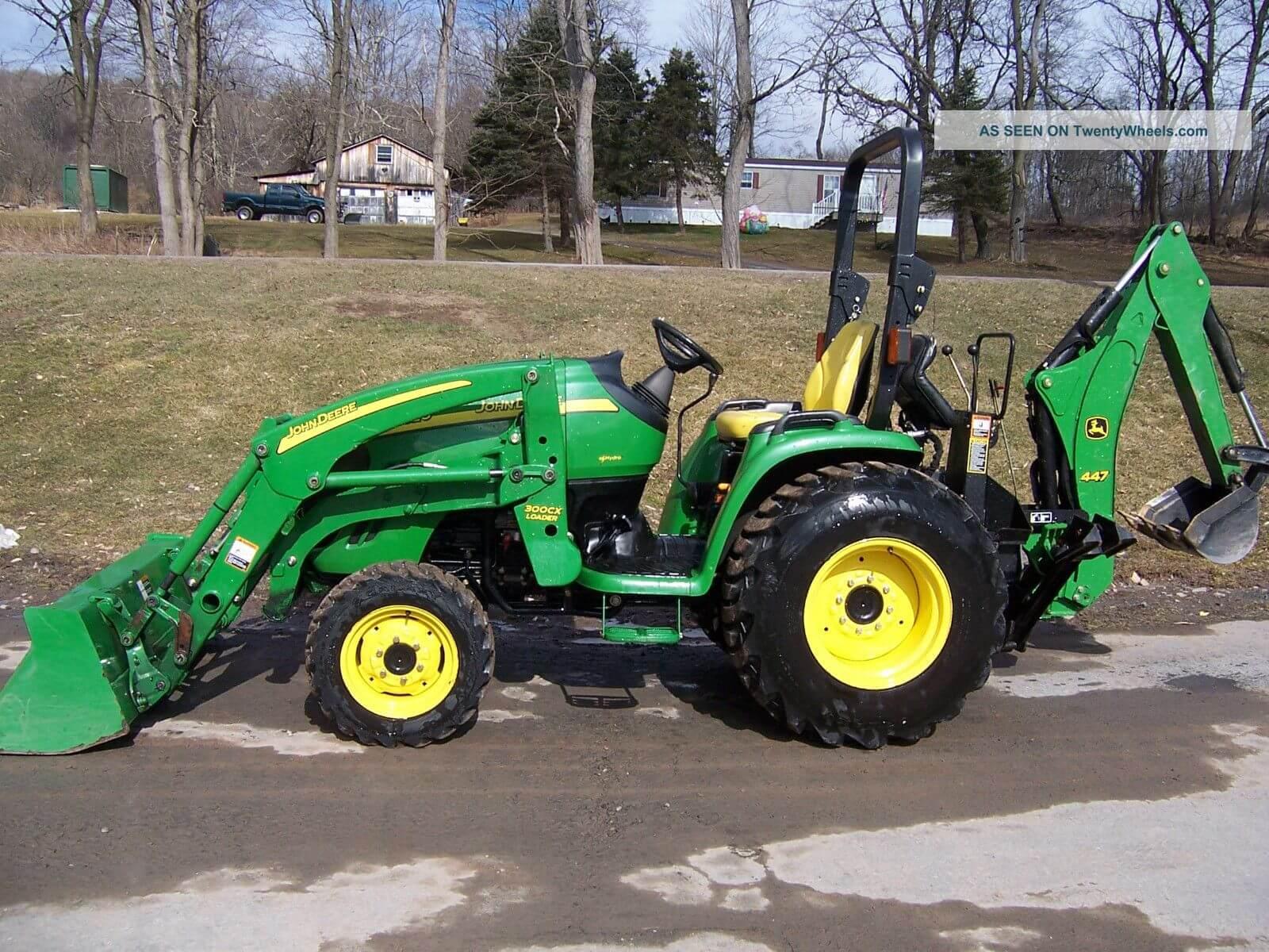 Smick Lumber Rental John Deere Tractor w/ Backhoe