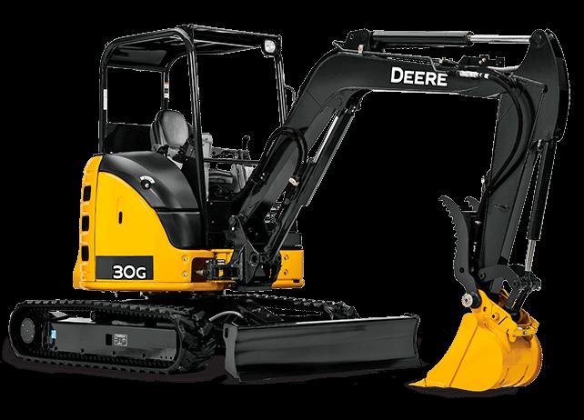 Smick Lumber Rental Excavator